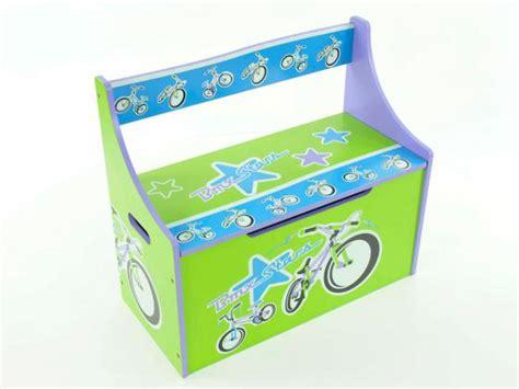 banco baul infantil foto banco infantil banco ba 250 l ba 250 l azul verde lila