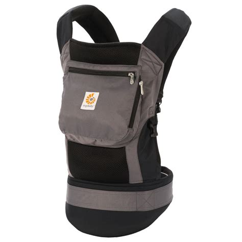 baby carrier ergo baby performance carrier black charcoal bcp