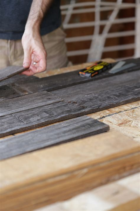 how to woodworking how to make a diy distressed headboard live simply