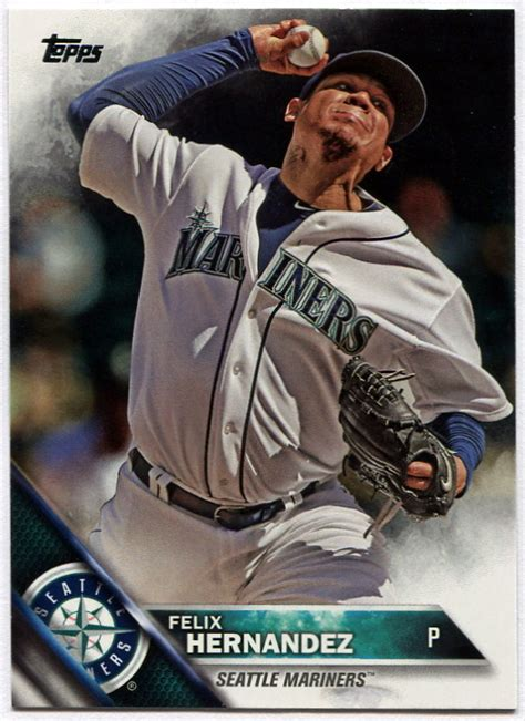 Seattle Mariners Gift Card - 2016 topps seattle mariners baseball cards team set
