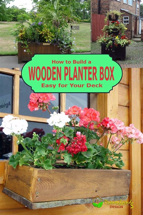 how to build a wooden planter box easy how to build a wooden planter box easy for your deck in 7 easy steps