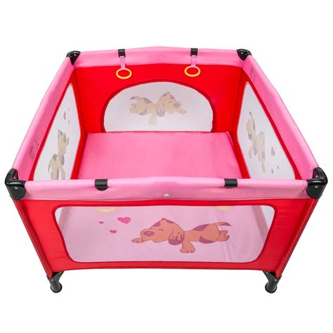 baby play bed portable child baby infant playpen travel cot bed crawl