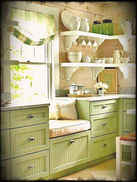 Kitchen Small Country Rustic Design Ideas Green ~ Chiefs