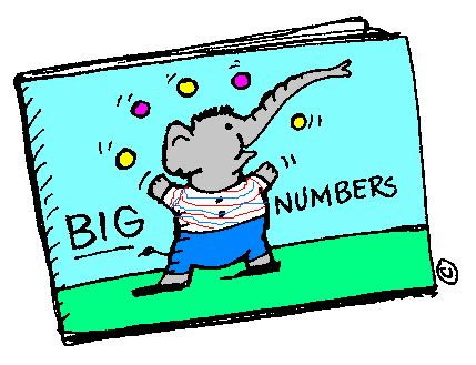 Big Numbers Clipart