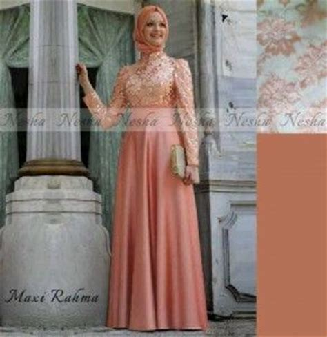 Maxy Tiara Brokat model gaun pesta terbaru 2014 maxi rahma gamis modern
