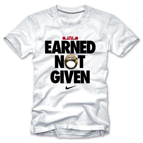 Tshirt Earned Nit Given published march 14 2014 at 510 215 510 in earned vs given