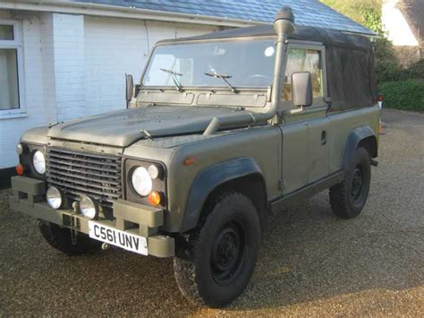 ex mod land rovers missing picture ad milweb classifieds