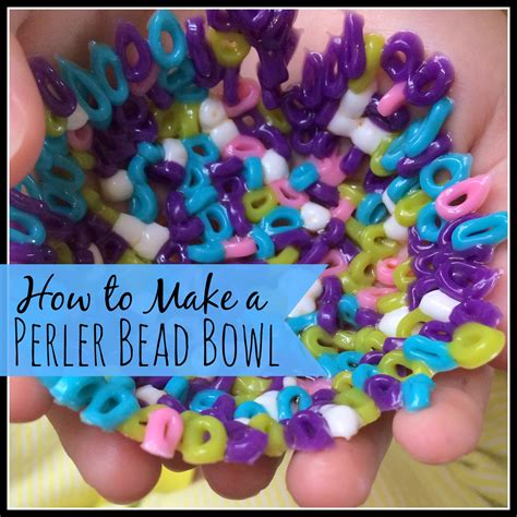 how to make out of perler how to make a perler bead bowl my big happy