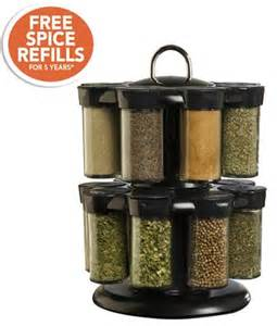 Kamenstein Spice Rack Refills Kamenstein 16 Jar Plastic Spice Rack With Refills Today