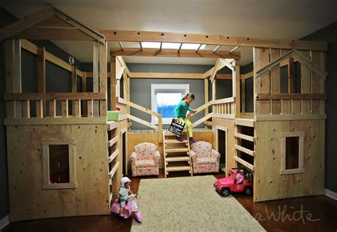 diy basement projects white diy basement indoor playground with monkey bars diy projects