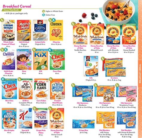 wic whole grains 2016 wic food list