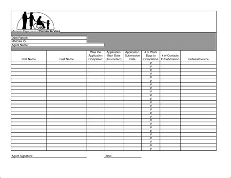 8 Daily Activity Log Template Authorizationletters Org Activity Templates