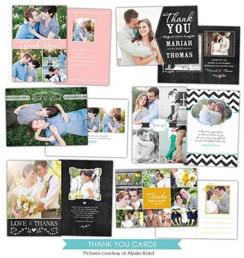 wedding thank you cards templates psd 32 best images about wedding thank you templates on