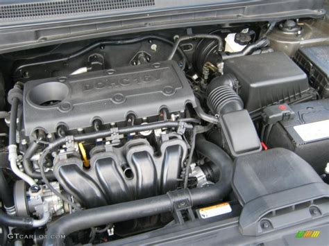 Kia 2 4 Engine 2009 Kia Rondo Lx 2 4 Liter Dohc 16 Valve 4 Cylinder