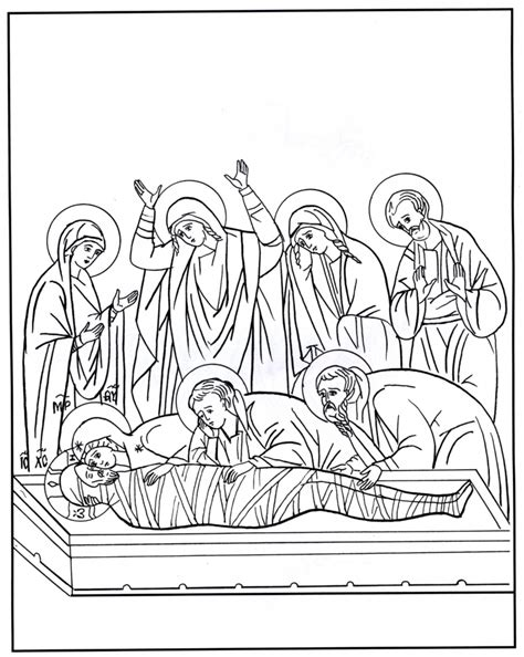 free coloring pages of images for holy week