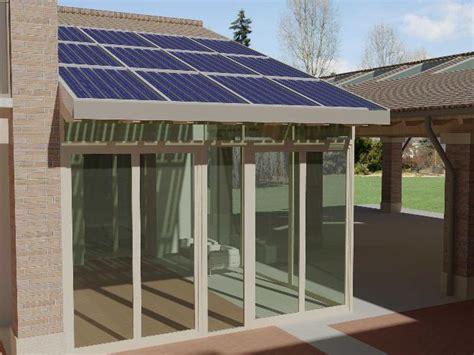 veranda fotovoltaica configurazioni standard energyglass