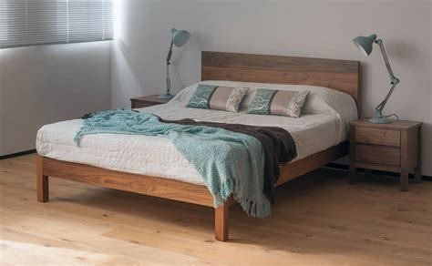 natural wood bed malabar contemporary wooden bed natural bed company