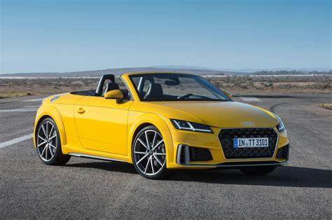 Audi Tt Design by 2019 Audi Tt Gets Refreshed Design