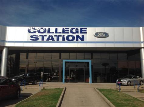 College Station Ford by College Station Ford Lincoln Car Dealership In College