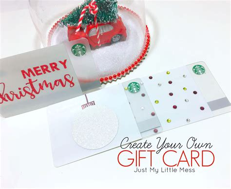 make gift cards how to make a gift card