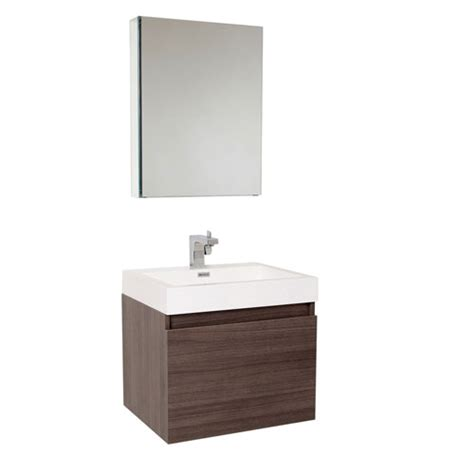 small bathroom vanities and medicine cabinets fresca nano small wall mount grey oak bathroom vanity