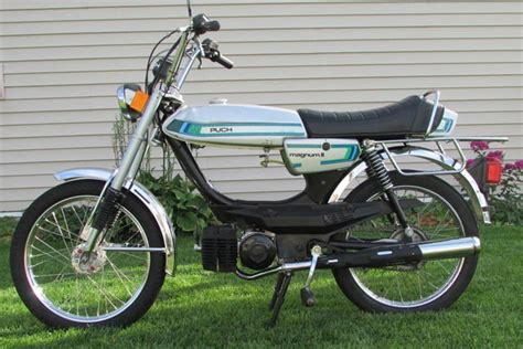Mofa Puch by Used 1980 Silver Puch Magnum Ii 795 00 Sold