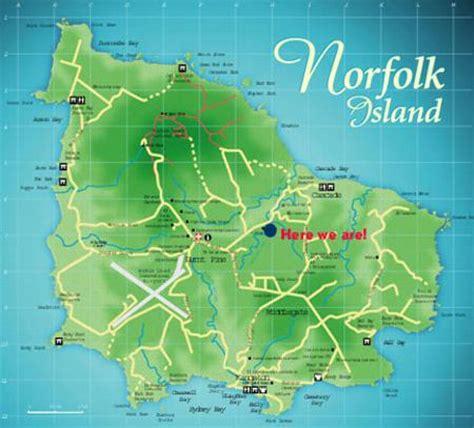 norfolk island map about us aataren villas norfolk island accommodation