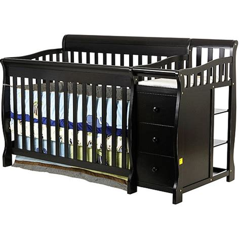 Black Crib And Changing Table Pin By Rickels On Baby 2
