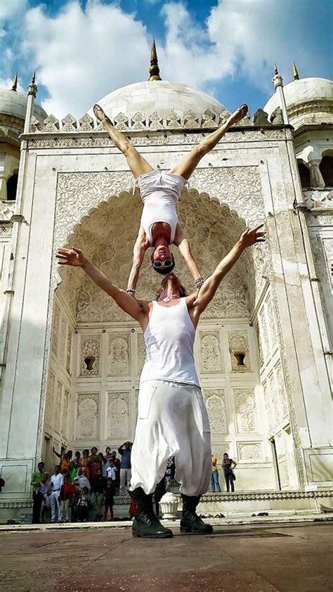 adventurous acrobat couple  married