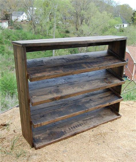diy wood shoe rack pallet shoe rack pallet furniture diy