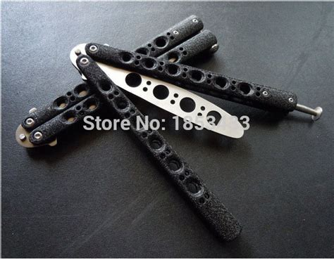 Kalung Lbutterfly Staniless Steel Compare Prices On Butterfly Knife Black Shopping