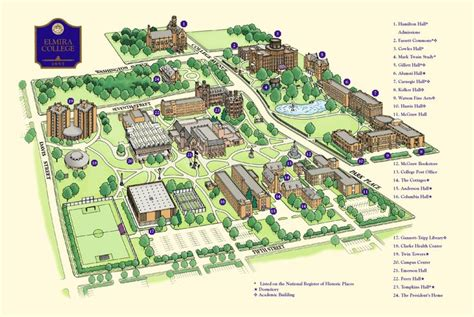 college map cus map elmira college college story cus map colleges and maps
