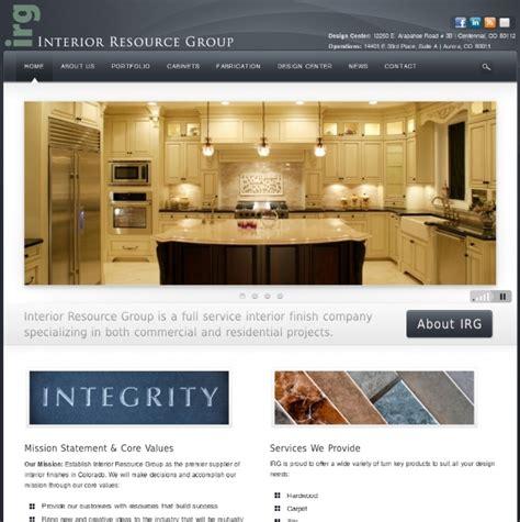 Interior Resource Denver by Portfolio 10for2 Web Development Denver