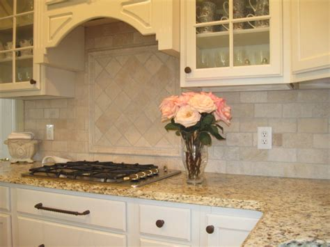 Travertine Kitchen Backsplash by Bella Backsplash Silbury Hill