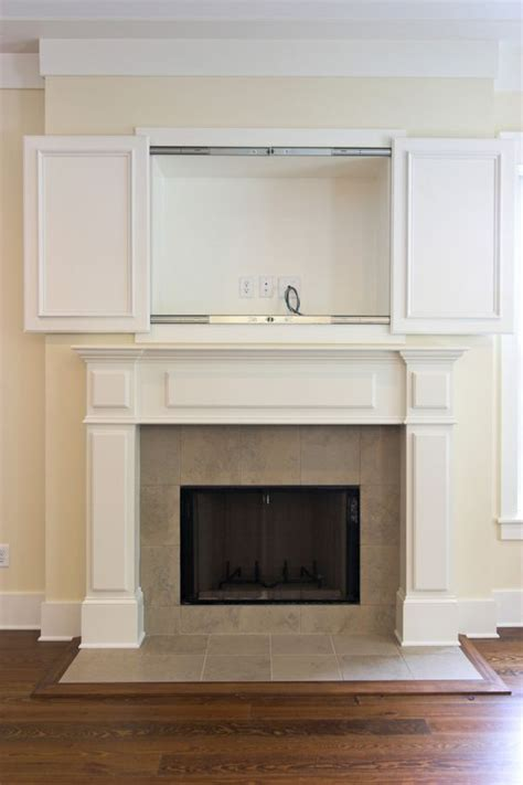 tv cabinet with doors to hide tv tvs wall cabinets and fireplaces on pinterest
