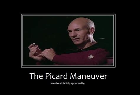 Meme Picard - the picard maneuver scifun
