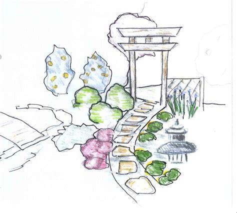 japanischer garten zeichnung hal s hat japanese gardens design to reality