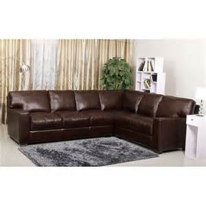 Double Chaise Loveseat Square Ottoman Coffee Table With L Shaped Brown Leather