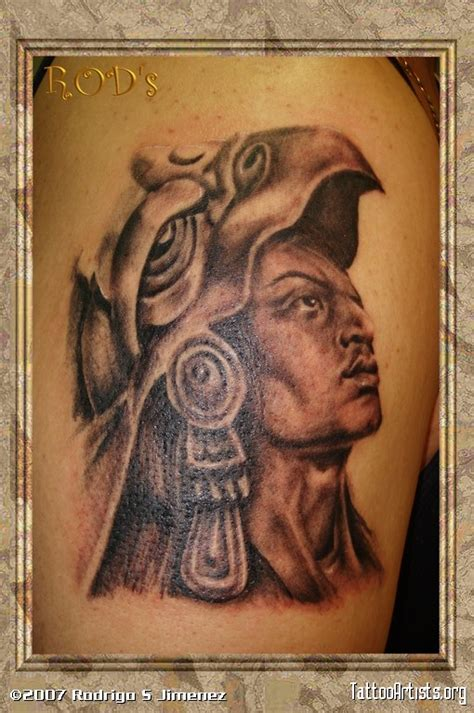 tattoos aztecas azteca artists org