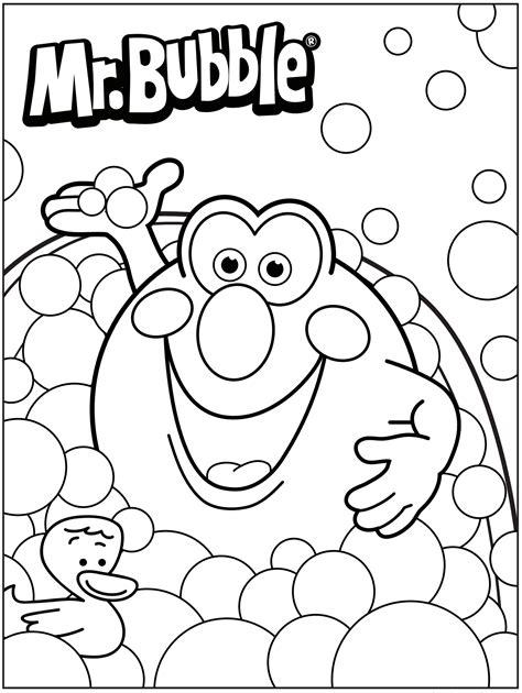 3d coloring pages bath time 3d coloring pages