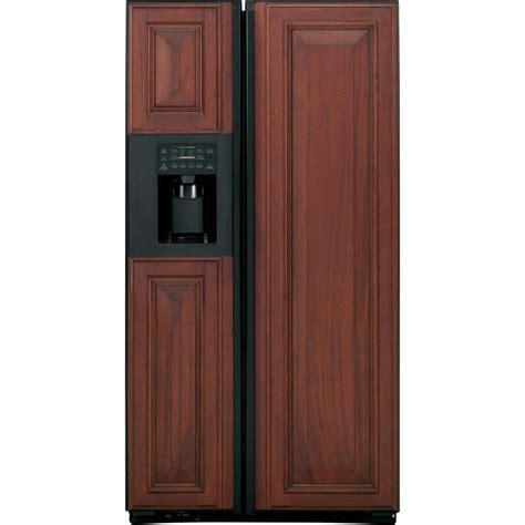 Ge Profile Refrigerator Cabinet Depth by Ge Profile 23 4 Cu Ft Side By Side Refrigerator In Black