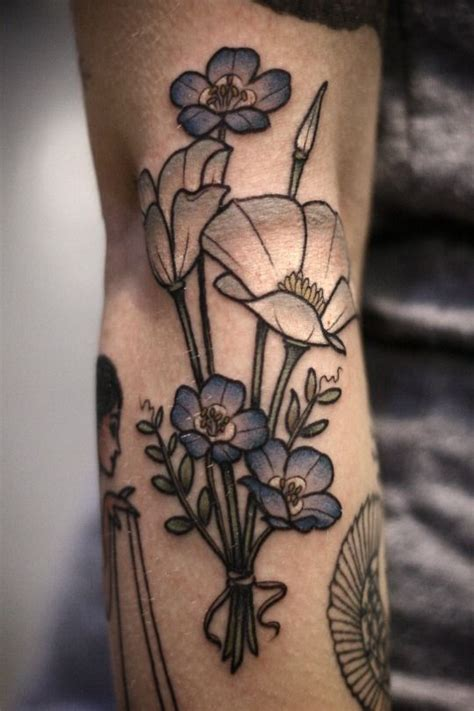 california poppy tattoo 893 best images about on