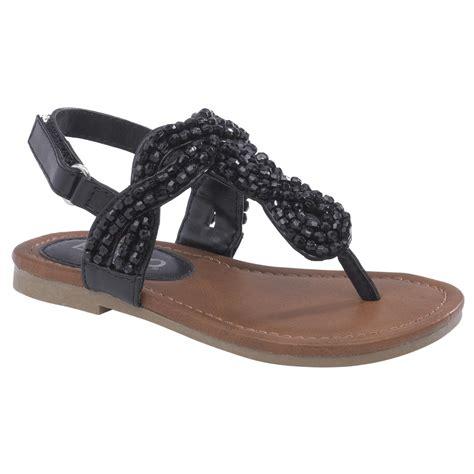 toddler black sandals bongo toddler s beaded sandal vanna black shoes