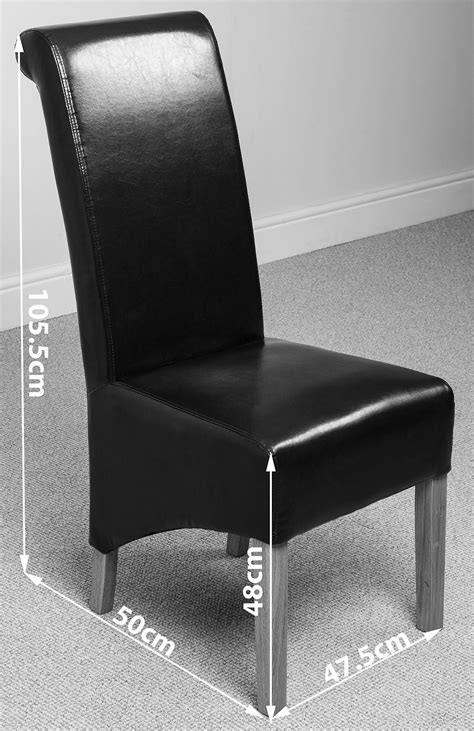 black leather dining bench montana scroll back leather dining chairs dining room furniture ebay