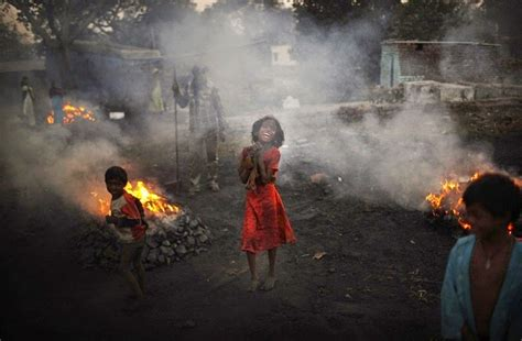 coal on new years these photos of mining town jharia that s been on for
