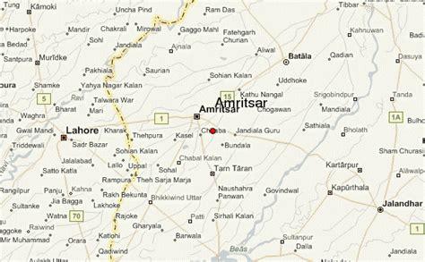 amritsar maps amritsar location guide