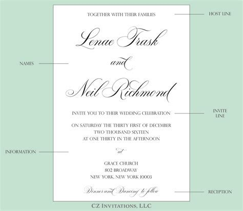 Wedding Invitation: Creative Wedding Invitation Wording