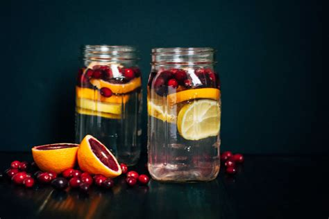 Cranberry Detox Water by Cranberry Orange Detox Water Well And