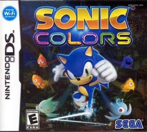sonic colors ds sega 16 on sonic colors nintendo ds