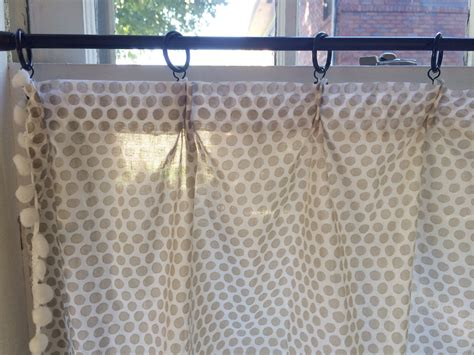 cafe curtains diy our home the kitchen diy cafe curtains lindsey kubly